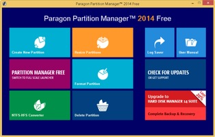 Paragon Partition Manager Free Edition (64-bit) free download